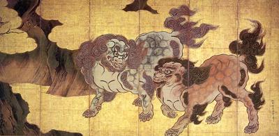 Eitoku, Kano Japanese, 1500s