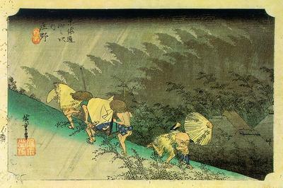 hiroshige, utagawa or ando japanese, 1797 1858