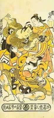 kiyonobu, torii japanese, 1664 1729