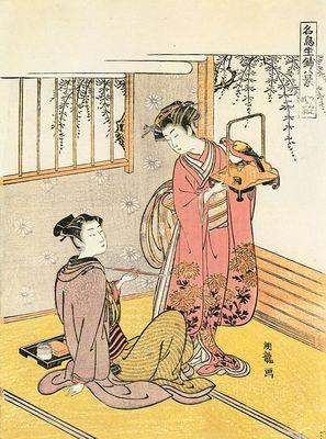 koryusai, isoda japanese, active 1765