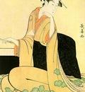 choki, eishosai japanese, active approx  1780