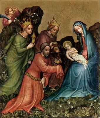 Adoration of Jesus