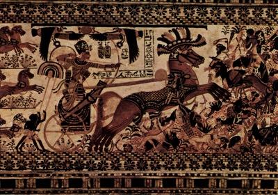 aegyptischer maler um 1355 v  chr