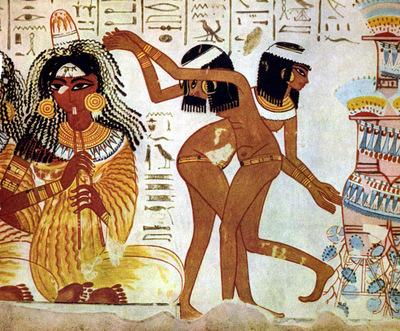 aegyptischer maler um 1400 v  chr