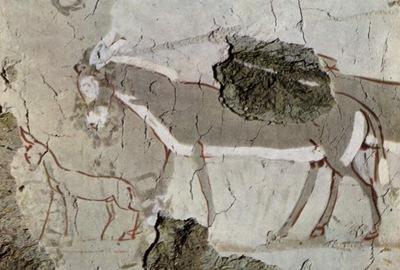 aegyptischer maler um 1430 v  chr