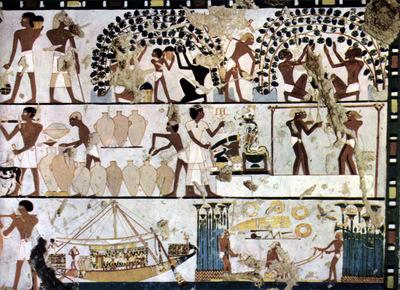 aegyptischer maler um 1500 v  chr