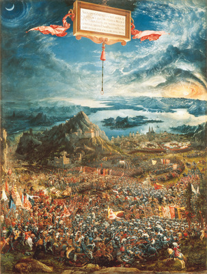 Albrecht Altdorfer The Battle of Alexander at Issus