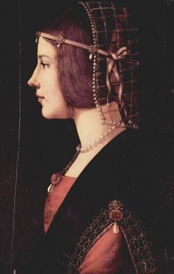 Ambrogio de Predis Ritratto di una dama