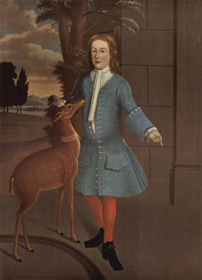 amerikanischer maler von 1730