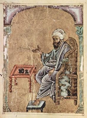 arabischer maler des kraeuterbuchs des dioskurides