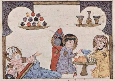 arabischer maler um 1275