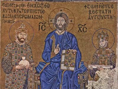 byzantinischer mosaizist um 1020