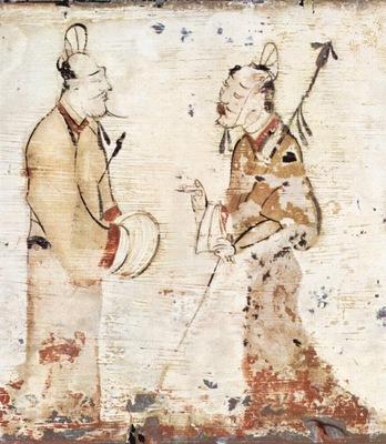 chinesischer maler des 3  jahrhunderts v  chr