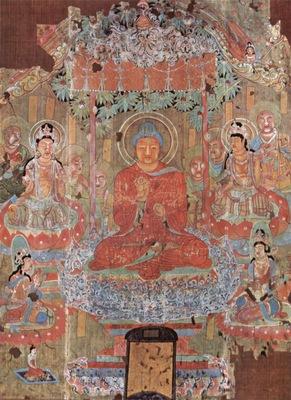 chinesischer maler des 8  jahrhunderts