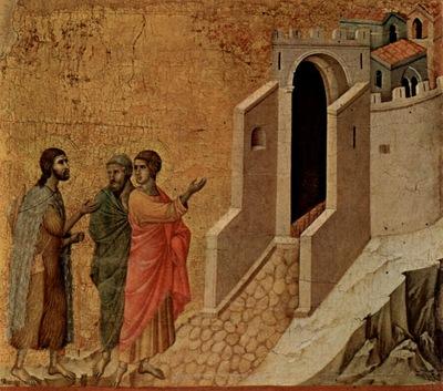 Duccio di Buoninsegna Emaus