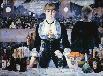 Edouard Manet A Bar at the Folies Bergere
