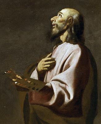 Francisco de Zurbaran autoportrait