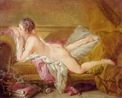 francois boucher ruhendes maedchen 1752