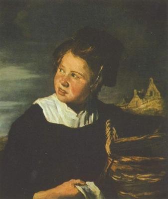 Frans Hals follower Fischermaedchen