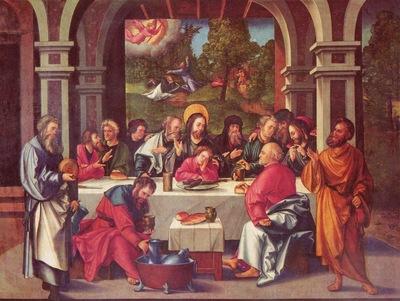 Hans Leonhard Schaeufelein Abendmahl