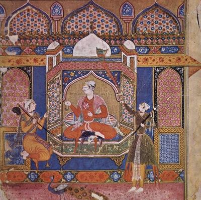 indischer maler um 1595