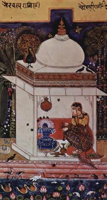 indischer maler um 1625
