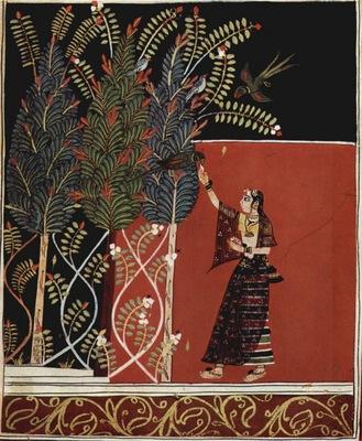 indischer maler um 1680