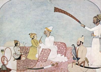 indischer maler um 1760