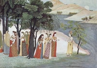 indischer maler um 1760 65