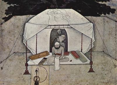 indischer maler um 1765
