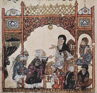 irakischer maler um 1230