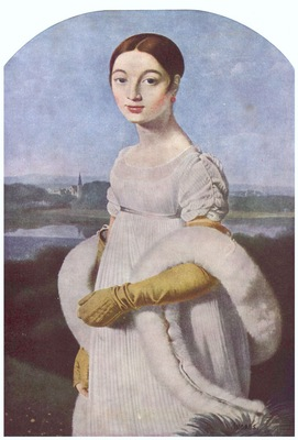 Jean Auguste Dominique Ingres Mademoiselle Riviere