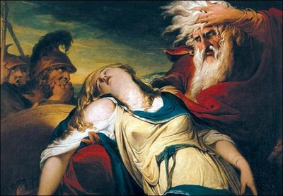 King Lear mourns Cordelia s death