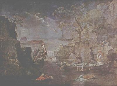 L Hiver ou le Deluge par Nicolas Poussin