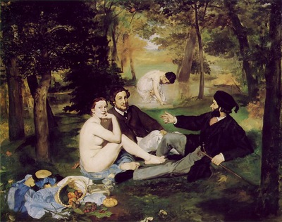 Manet Edouard Le Dejeuner sur l Herbe The Picnic 1