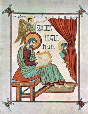 meister des book of lindisfarne
