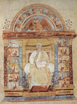 meister des evangelienbuches des heiligen augustinus