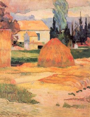 Paul Gauguin Ferme a Arles 1888