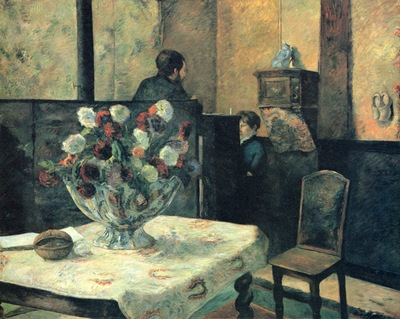 paul gauguin interieur du peintre paris rue carcel 1881