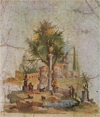 pompejanischer maler um 10 20