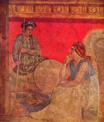 pompejanischer maler um 40 v  chr