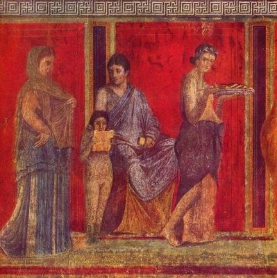 pompejanischer maler um 60 v  chr