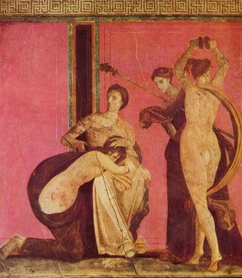 pompejanischer maler um 80 v  chr