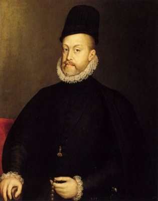 portrait of philip ii of spain by sofonisba anguissola