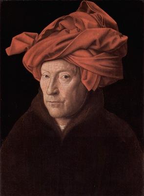 Portrait of a Man in a Turban Jan van Eyck