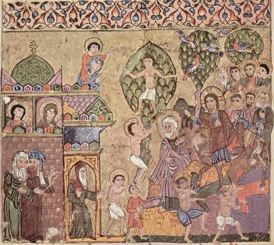 syrischer maler um 1220