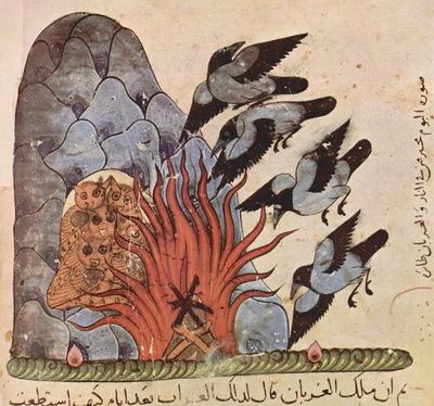 syrischer maler um 1310