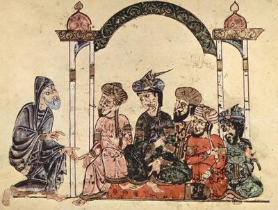 syrischer maler von 1222