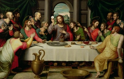 The Last Supper by Vicente Juan Macip