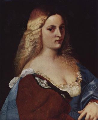 Violante La Bella Gatta by Titian